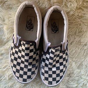 Slip On Checkered Vans